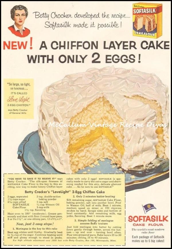 LOVELIGHT CHOCOLATE CHIFFON CAKE