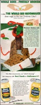 1952 Christmas Mincemeat Cake 1952